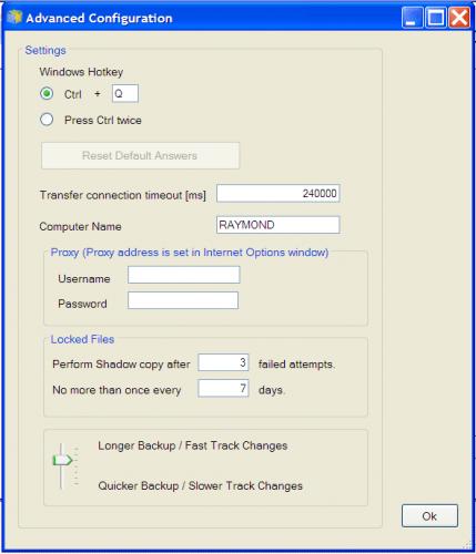 memopal-windows-backup-advanced-configuration
