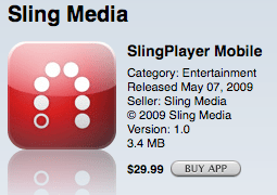 How to Run the Slingbox iPhone Application on 3G