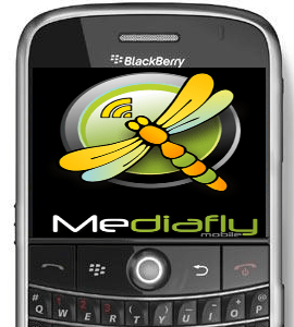 GearDiary Mediafly for BlackBerry Review