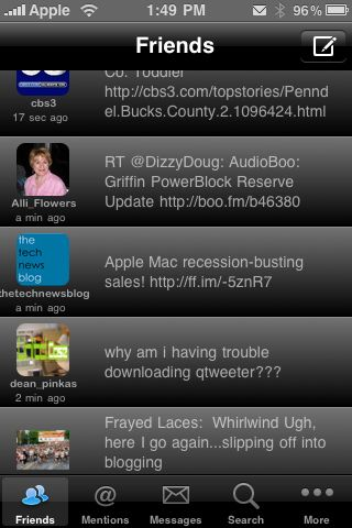 Simply Tweet for iPhone Review