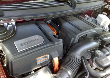 2009 Cadillac Escalade Platinum Hybrid SUV