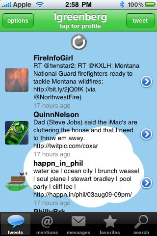 Twitterena+ Pro for iPhone OS Review  Twitterena+ Pro for iPhone OS Review
