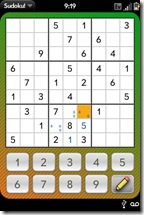 Palm Pre App Catalog. 30 Apps in 30 Days. Day 10: Sudoku!