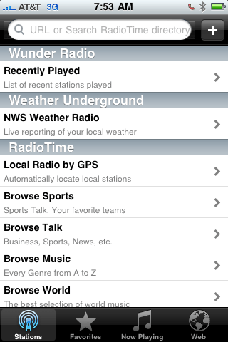 Radios (Including Internet Radio) iPhone Apps   Radios (Including Internet Radio) iPhone Apps