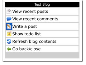Wicked Blogging Right on Your BlackBerry Review