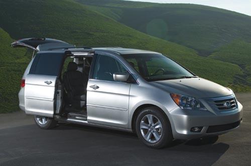2010 Honda Odyssey minivan  2010 Honda Odyssey minivan