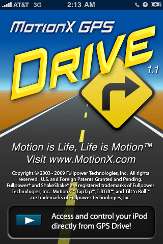GearDiary Review: MotionX GPS Drive
