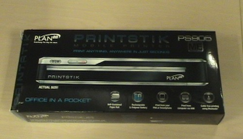 Review:  PlanOn Printstik Bluetooth Printer for BlackBerry  Review:  PlanOn Printstik Bluetooth Printer for BlackBerry