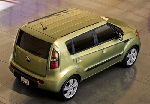 2010 Kia Soul built to rock and roll