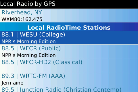 Wunder Radio for BlackBerry is released  Wunder Radio for BlackBerry is released  Wunder Radio for BlackBerry is released