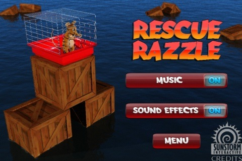 GearDiary Review:  Rescue Razzle for iPhone OS