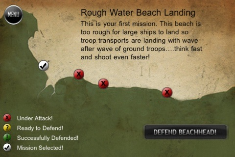 Review:  WW2 Beachhead for iPhone OS  Review:  WW2 Beachhead for iPhone OS  Review:  WW2 Beachhead for iPhone OS  Review:  WW2 Beachhead for iPhone OS