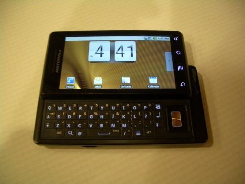Motorola Droid physical keyboard