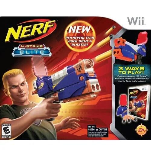 Wii Game Review: NERF N-Strike Elite!