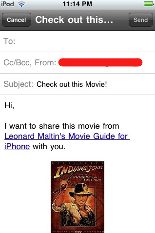 """Preview of """"Leonard Maltin Movie Guide - iPhone App review""""-1.jpg"""