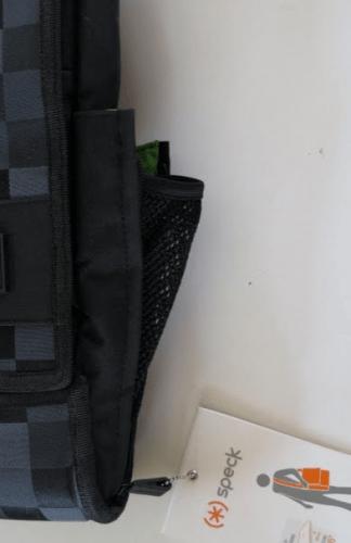 Speck PortPack Shoulder Bag hidden water bottle holdrr