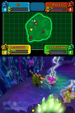 Spore Hero Arena Nintendo DS Game Review  Spore Hero Arena Nintendo DS Game Review