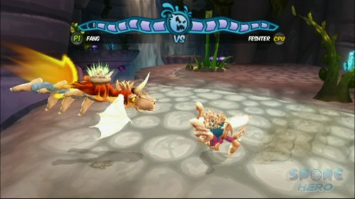 Nintendo Wii Game Review: Spore Hero  Nintendo Wii Game Review: Spore Hero