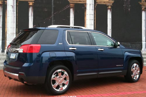 2010 GMC Terrain changing landscape of crossovers  2010 GMC Terrain changing landscape of crossovers  2010 GMC Terrain changing landscape of crossovers