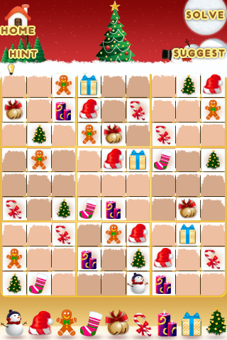 Christmas Sudoku for the iPhone/iPod Touch Review  Christmas Sudoku for the iPhone/iPod Touch Review
