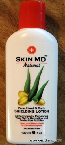 Skin MD Natural Shielding Lotion, a GearChat Review  Skin MD Natural Shielding Lotion, a GearChat Review