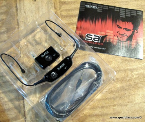 The Sleek Audio SA6 W-1 Wireless Earphones Kit Review