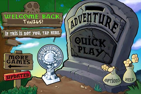 iPhone Game Review: Plants vs Zombies