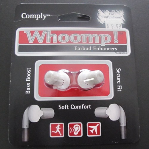 Review:  Whoomp!  Boost Apple's Ear Buds for Even Less