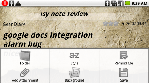 Review: Easy Note+Todo for Android  Review: Easy Note+Todo for Android  Review: Easy Note+Todo for Android