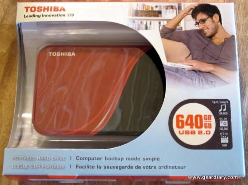 Toshiba 640GB Portable Hard Drive Review