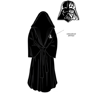Revel in Your Dark Side with the Darth Vader Bath Robe