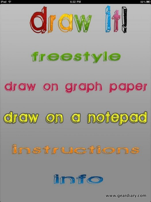 Review:  Draw It! For iPad  Review:  Draw It! For iPad