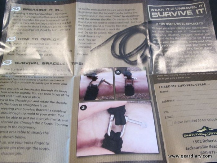 SurvivalStrap, Always There When You Need It Review