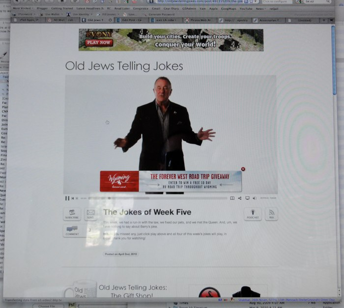 Old Jews Telling Jokes- Yet Another Reason To Be Thankful For HTML 5