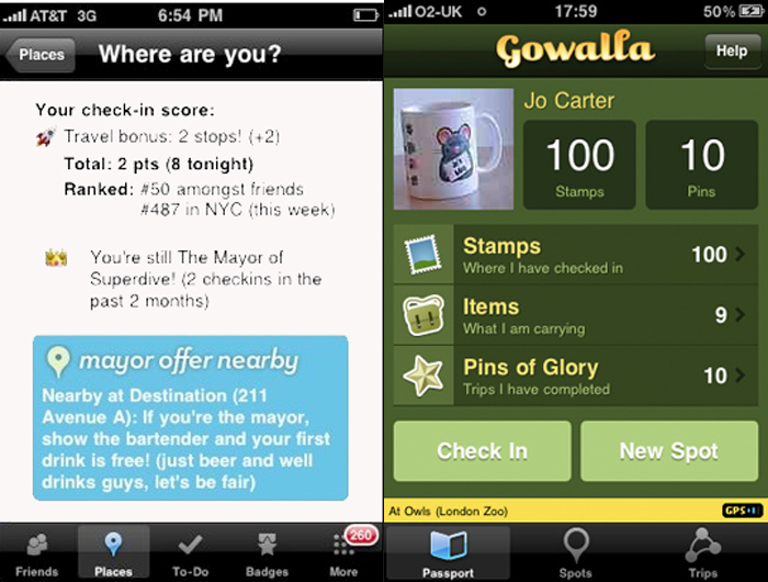 Gowalla vs. Foursquare: Which One Is Right For You?