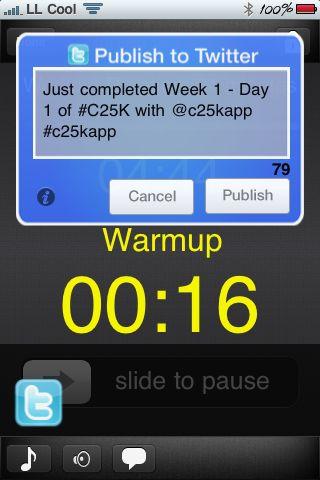 C25K: Week 1