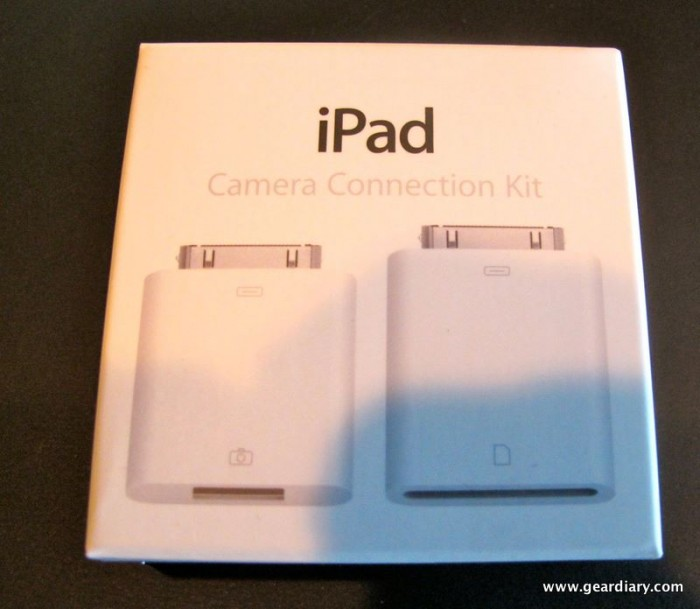 Review:  iPad Camera Connection Kit