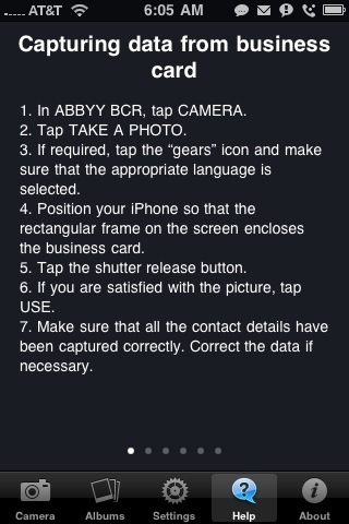 ABBYY Business Card Reader- iPhone App Review  ABBYY Business Card Reader- iPhone App Review  ABBYY Business Card Reader- iPhone App Review