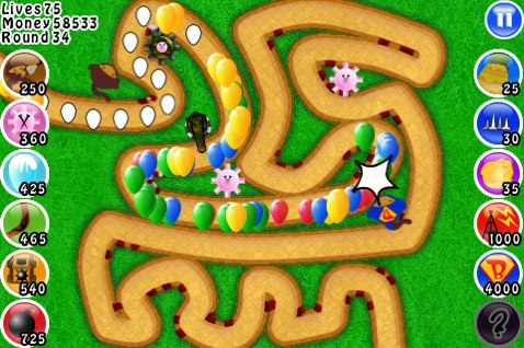 GearDiary Bloons TD Lite for iPhone/Touch App Review