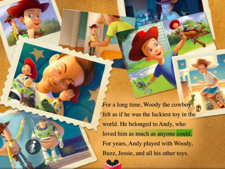 Read Along with Woody, Buzz and the Gang:  Toy Story 3 for iPad Review  Read Along with Woody, Buzz and the Gang:  Toy Story 3 for iPad Review