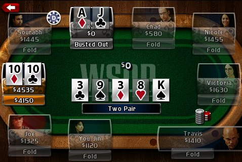 GearDiary World Series of Poker Hold'em Legend Free for iPhone/Touch App Review