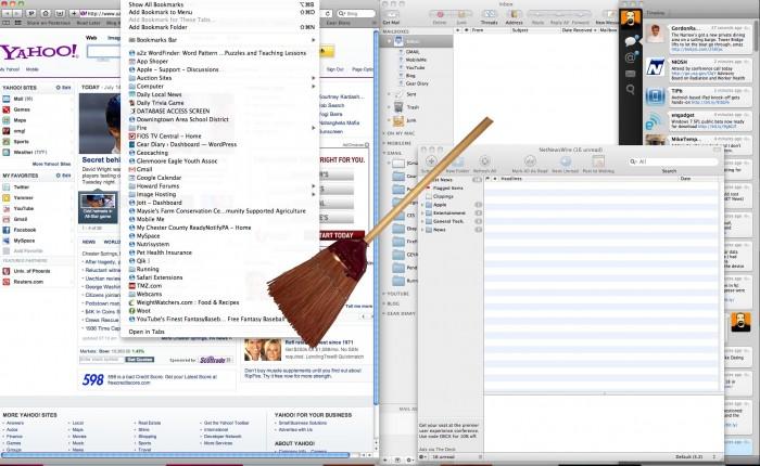 All In For Web Based Apps: A Desktop Clean In Progress