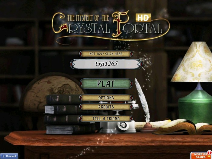 iPad Game Review: Mystery of the Crystal Portal