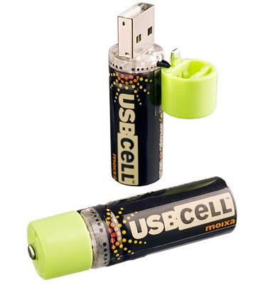 USBCELL Batteries Make You Wonder Why You Didn't Think of This First