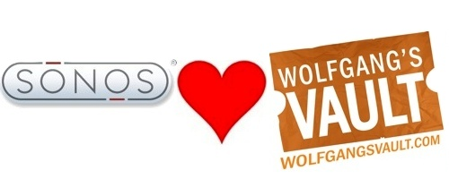 Wolfgang's Vault and Sonos Get Close...