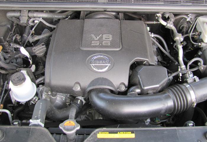 2010 Nissan Titan in Heavy Metal Chrome