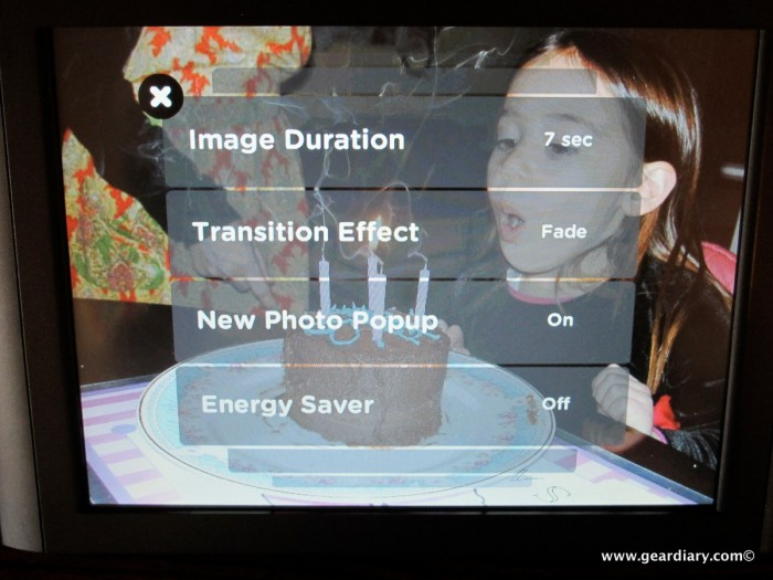 """The Vizit Mobile Network 10.4"""" Touch Screen Photo Frame Review"""