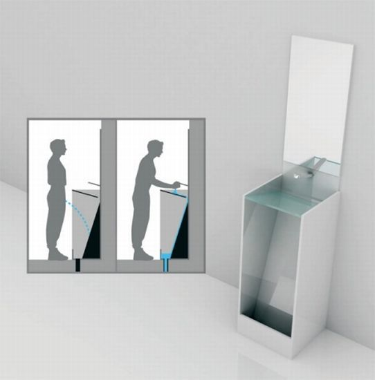 The Urinal Sink: Ultra-Efficient, Eco-Friendly ... But Do You Want It?  The Urinal Sink: Ultra-Efficient, Eco-Friendly ... But Do You Want It?