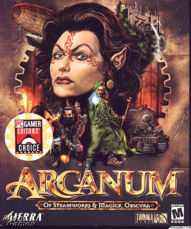 The Netbook Gamer: Arcanum: Of Steamworks & Magick Obscura (2001, RPG)