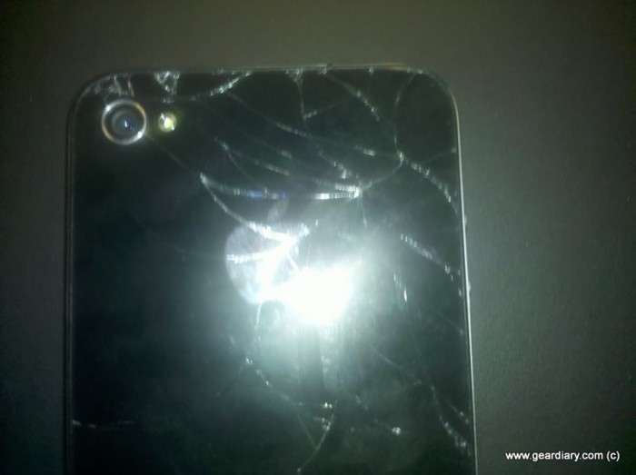 A Smartphone User's Worst Nightmare...